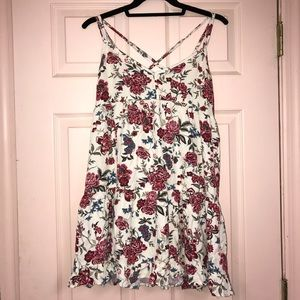 American eagle floral shirt/dress